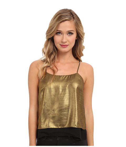 Parker - Eclipse Combo Tank (Gold) Women's Sleeveless