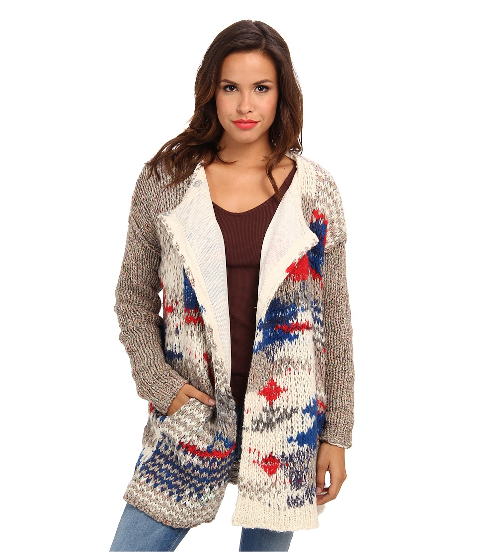 Free People - Fireworks Fur Sweater (Multi Combo) Women's Sweater