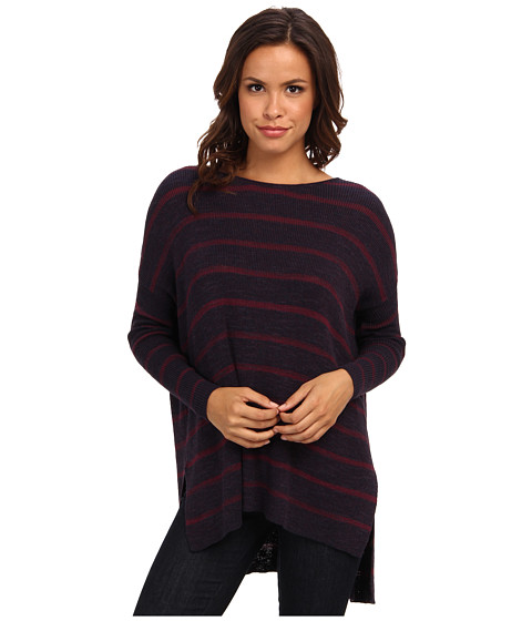 Free People - Shipping News Sweater (Navy Combo) Women