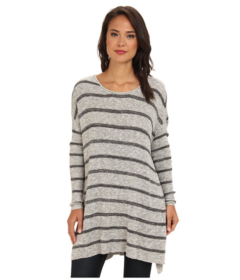 Free People - Shipping News Sweater (Grey Combo) Women