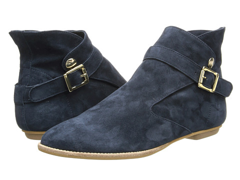 House of Harlow 1960 - Hollie (Navy Suede) Women's Shoes