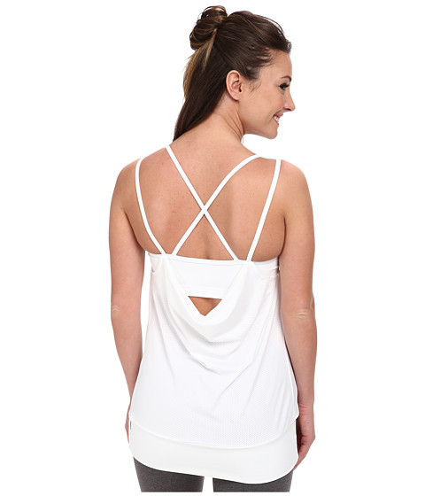 Lucy - Feel The Beat Singlet (Lucy White) Women's Sleeveless