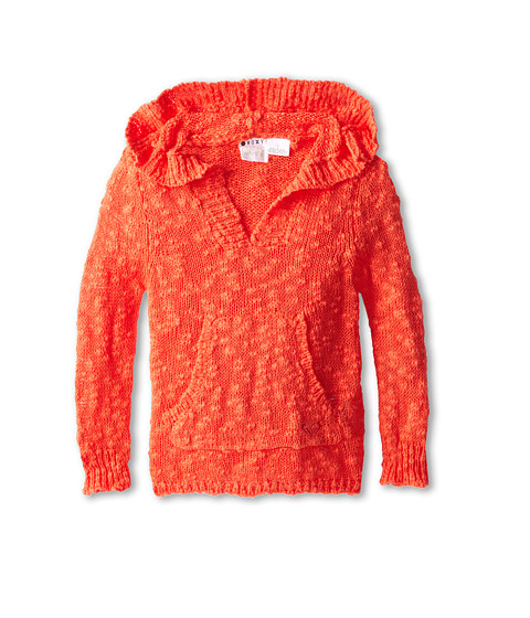 Roxy Kids - Warm Heart Sweater (Toddler/Little Kids/Big Kids) (Hot Coral) Girl