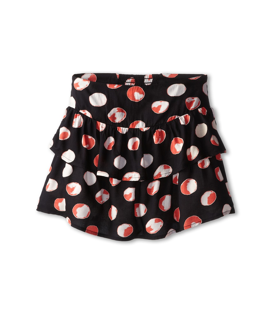 Roxy Kids - Party Time Skirt (Big Kids) (Faded True Black Polka Dot) Girl