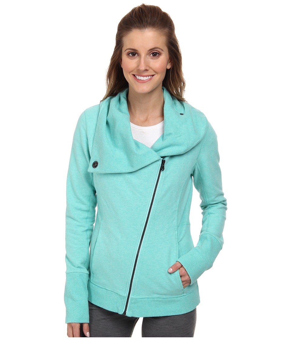 Lucy - Hatha Girl Jacket (Cypress Heather) Women's Coat