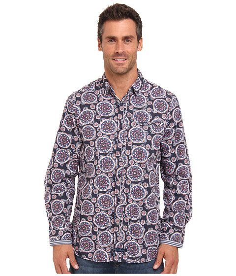 English Laundry - Edmunds (Blue) Men's Long Sleeve Button Up