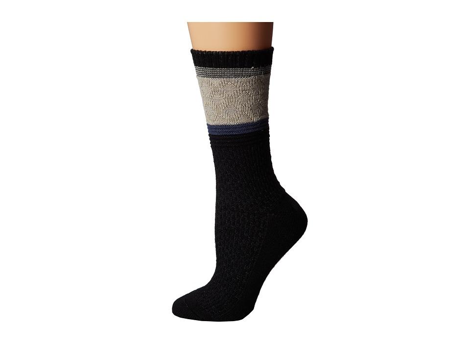 Goodhew - Poplar (Black) Women's Crew Cut Socks Shoes