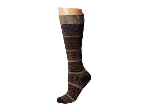 Goodhew - Wellington (Espresso) Women's Crew Cut Socks Shoes