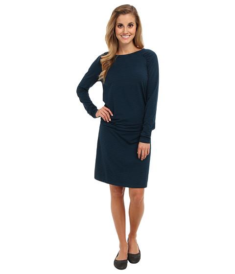 Carve Designs - L/S Shore Dress (Tahoe Shadow) Women's Dress