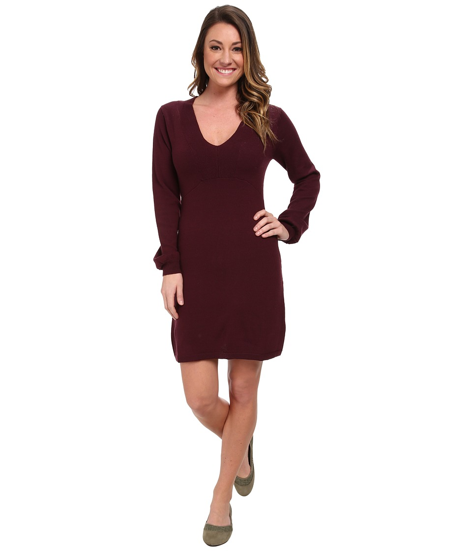 Carve Designs - Auburn Dress (Port) Women's Dress