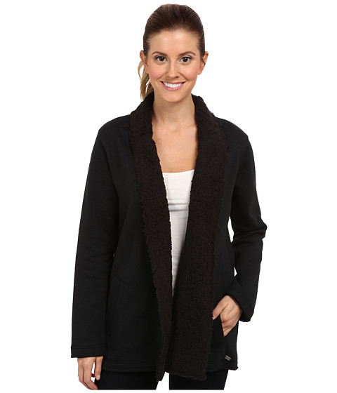 Carve Designs - Indah Fleece Topper (Black) Women