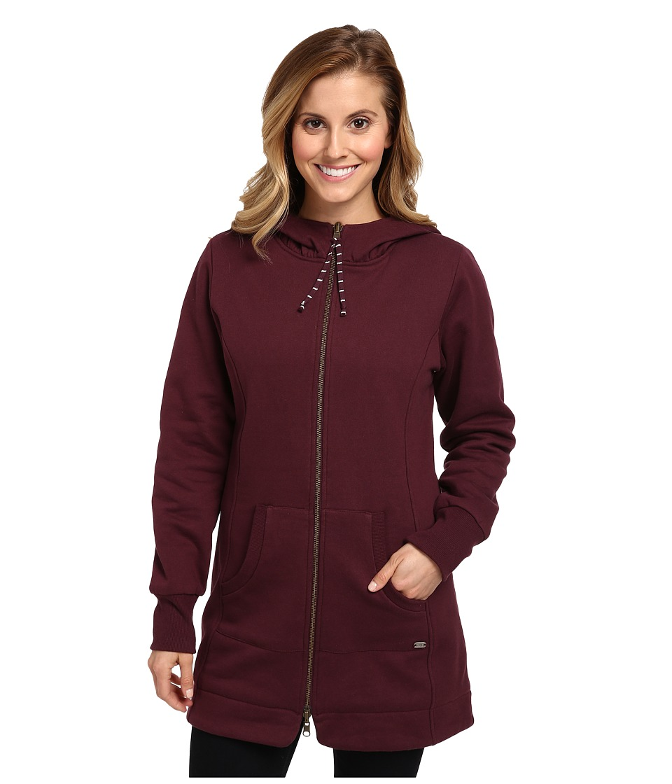 Carve Designs - Atlas Hoodie (Port) Women's Sweatshirt