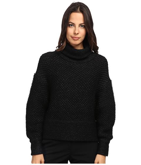 HELMUT LANG - Turtleneck Sweater (Black) Women's Sweatshirt