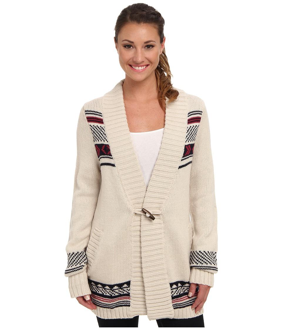 Carve Designs - Laurel Cardy (Cr me) Women's Sweater