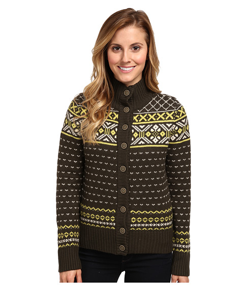 Carve Designs - Sumner Fairisle (Dark Loden) Women
