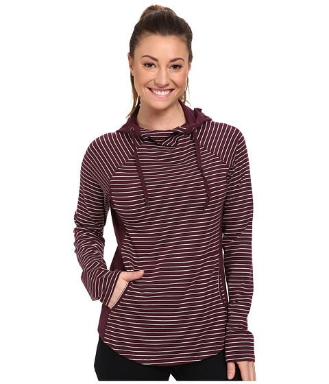 Carve Designs - Noir Hoodie (Port Stripe) Women's Sweatshirt