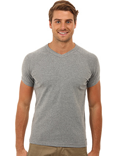 SALE! $14.99 - Save $23 on Mavi Jeans V Neck Tee (Grey Melange) Apparel - 60.55% OFF $38.00