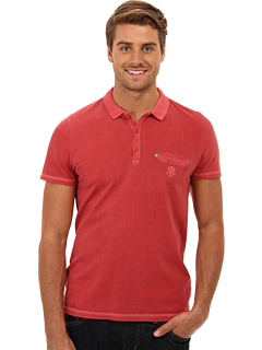 SALE! $14.4 - Save $34 on Mavi Jeans S S Polo Tee (Light Red) Apparel - 70.00% OFF $48.00