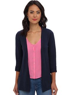 SALE! $17.4 - Save $41 on Mavi Jeans Long Cardigan (Navy) Apparel - 70.00% OFF $58.00