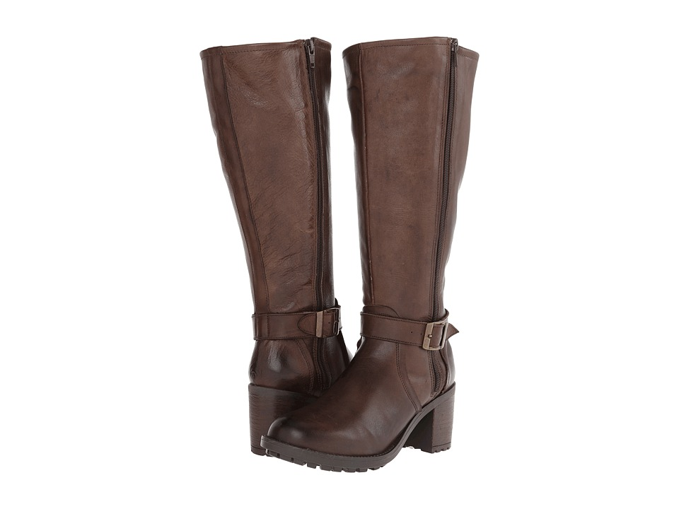 Gabriella Rocha - Caribe Wide Calf (Brown Leather) Women's Wide Shaft Boots