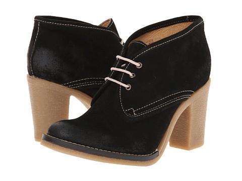 Gabriella Rocha - Sivilla Tie (Black Suede) Women's Lace-up Boots