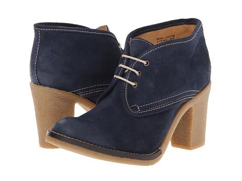 Gabriella Rocha - Sivilla Tie (Blue Suede) Women's Lace-up Boots