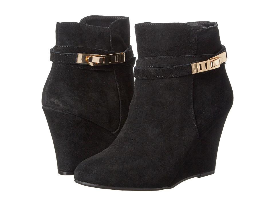 Chinese Laundry - Unleash (Black) Women's Wedge Shoes