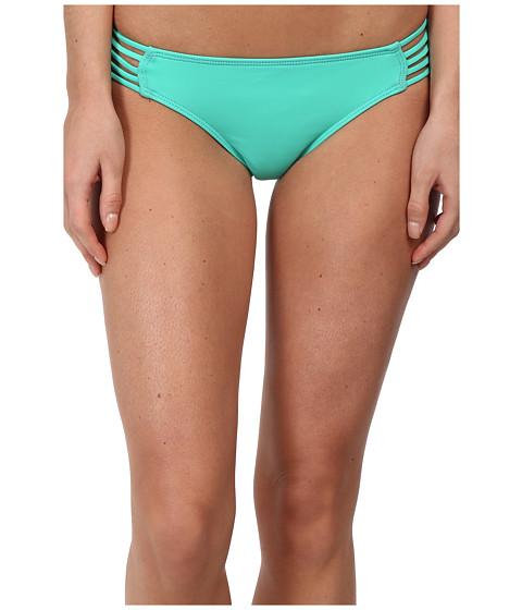Hurley - One Only Spider Bikini Bottom (Aqua) Women's Swimwear