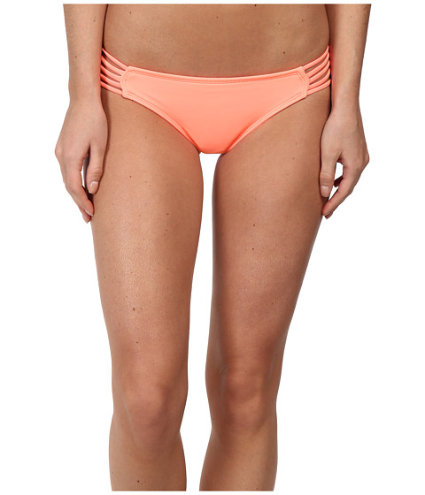 Hurley - One Only Spider Bikini Bottom (Pink) Women's Swimwear