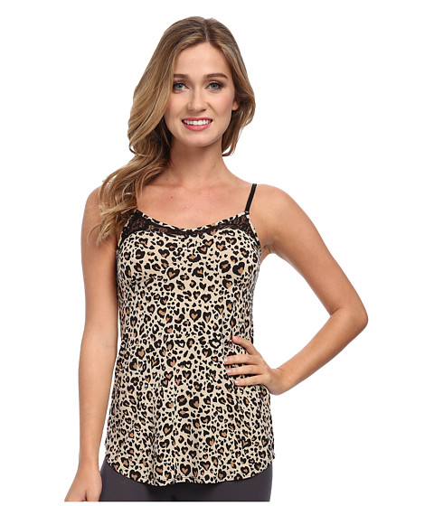 P.J. Salvage - Heart Leo Cami Sleep Tank (Tan) Women's Pajama