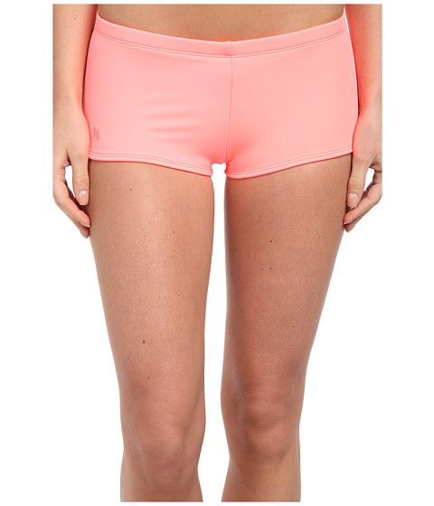 Hurley - One Only Boyshort (Pink) Women's Swimwear