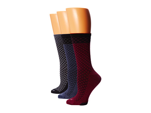Sockwell - Meta Soothe 3-Pack (Black/Denim/Thistle) Women