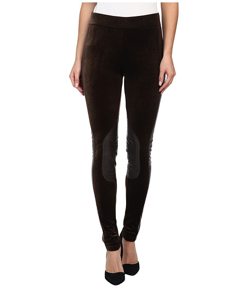 Tasha Polizzi - Velveteen Leggings (Chocolate) Women