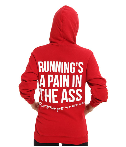 StyleStalker - Runnings A Pain Sweatshirt (Red) Women's Sweatshirt