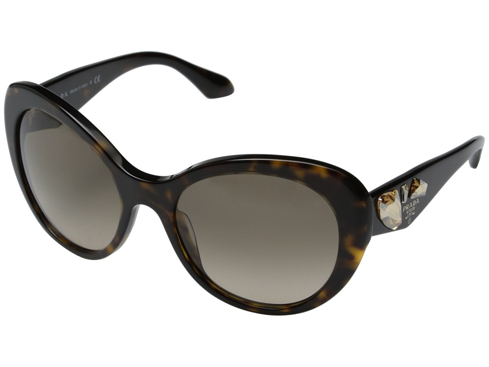 Prada - 0PR 26QS (Havana/Light Brown Gradient) Fashion Sunglasses