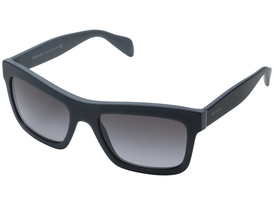 Prada - 0PR 25QS (Opal Matte Avio/Grey Gradient) Fashion Sunglasses