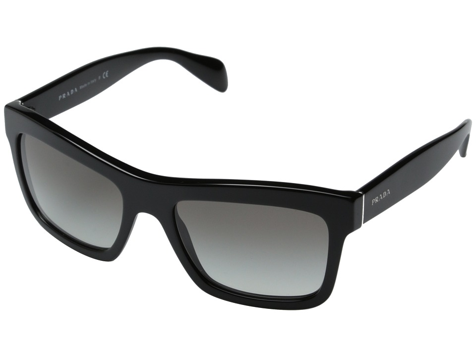 Prada - 0PR 25QS (Black/Grey Gradient) Fashion Sunglasses