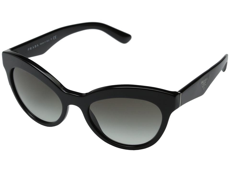 Prada - 0PR 23QS (Black/Grey Gradient) Fashion Sunglasses