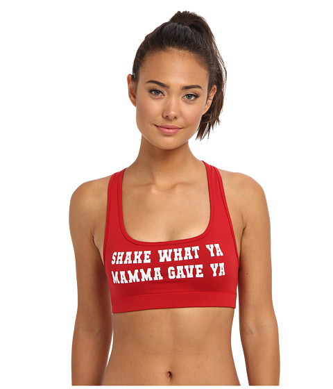 StyleStalker - Shake It Mama Sports Bra (Red) Women's Bra