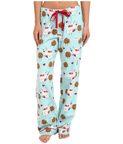 P.J. Salvage - Cookies Milk Pant (Aqua) Women's Pajama