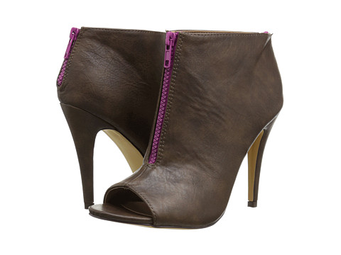 Michael Antonio - Kensington (Brown Heavy Grain PU) Women's Dress Sandals