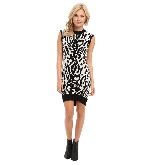 StyleStalker - Own The Night Dress (Leopard) Women's Dress