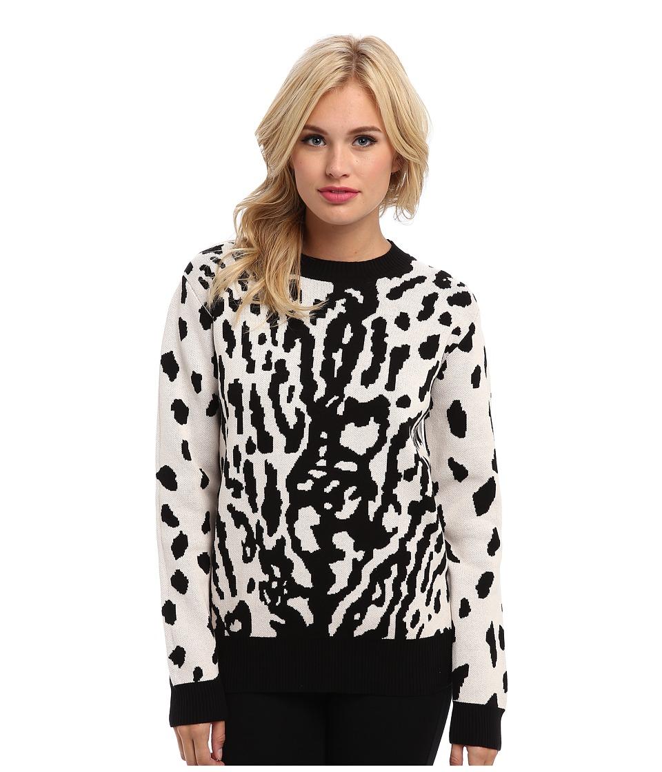 StyleStalker - We Are One Sweater (Leopard) Women's Sweater