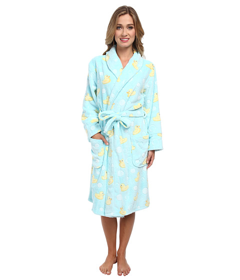 P.J. Salvage - Printed Robes Ducks (Aqua) Women's Robe