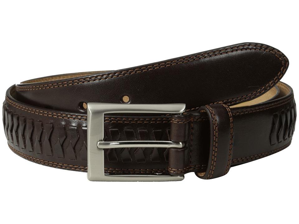 Cole Haan - 35mm Whitefield Belt Buckle (Chocolate) Men's Belts