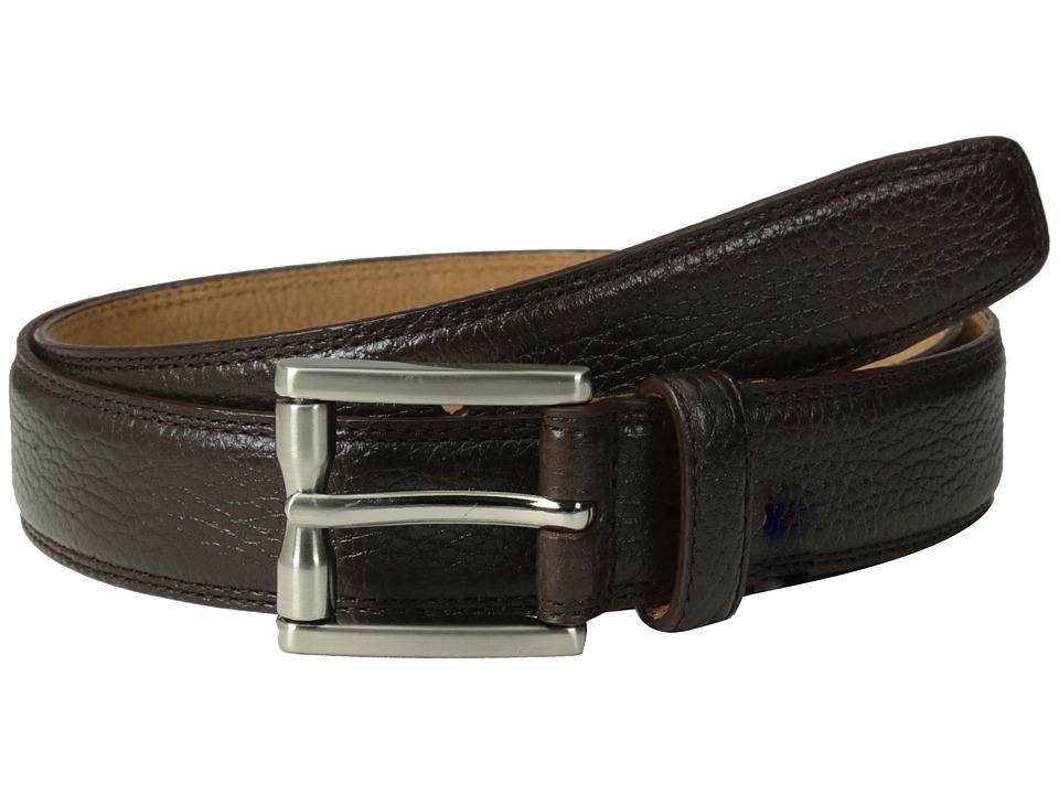 Cole Haan - 30mm Aulden Belt Buckle (Chocolate) Men's Belts