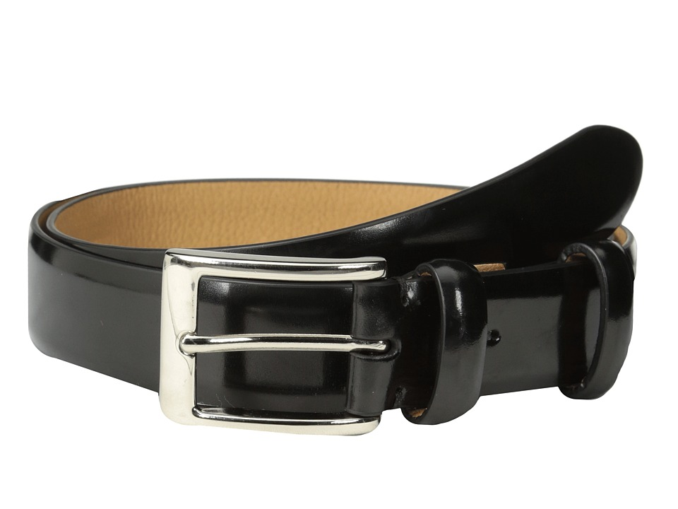 Cole Haan - 30mm Webster Belt Buckle (Black) Men's Belts