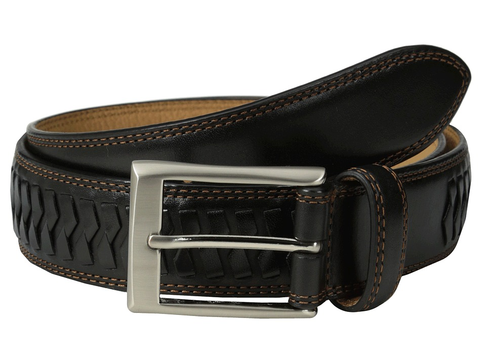 Cole Haan - 35mm Whitefield Belt Buckle (Black) Men's Belts
