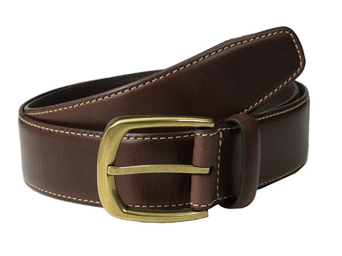 Cole Haan - 35mm Waylen Belt Buckle (Chocolate) Men
