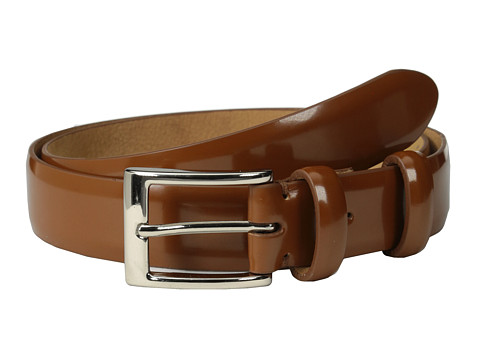 Cole Haan - 30mm Webster Belt Buckle (British Tan) Men's Belts